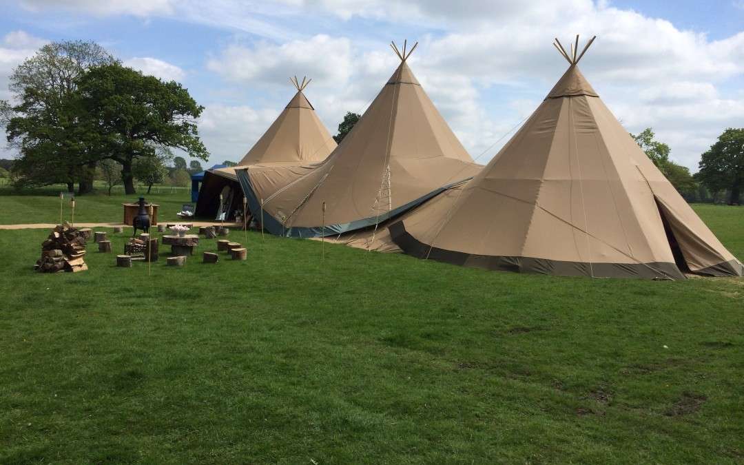 Tee-Pee Wedding, Knutsford
