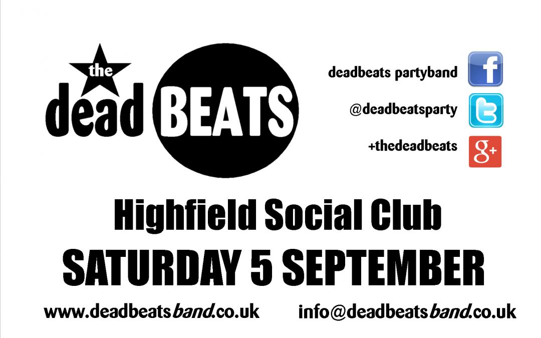 Highfield Social Club- Blackpool