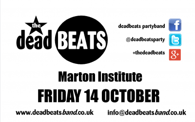 Marton Institute – Friday October 14th