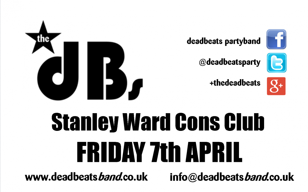 dB's at Stanley Ward- 7 April