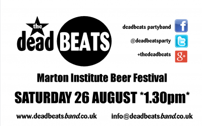 Marton Institute- This Saturday 26th *1.30pm*
