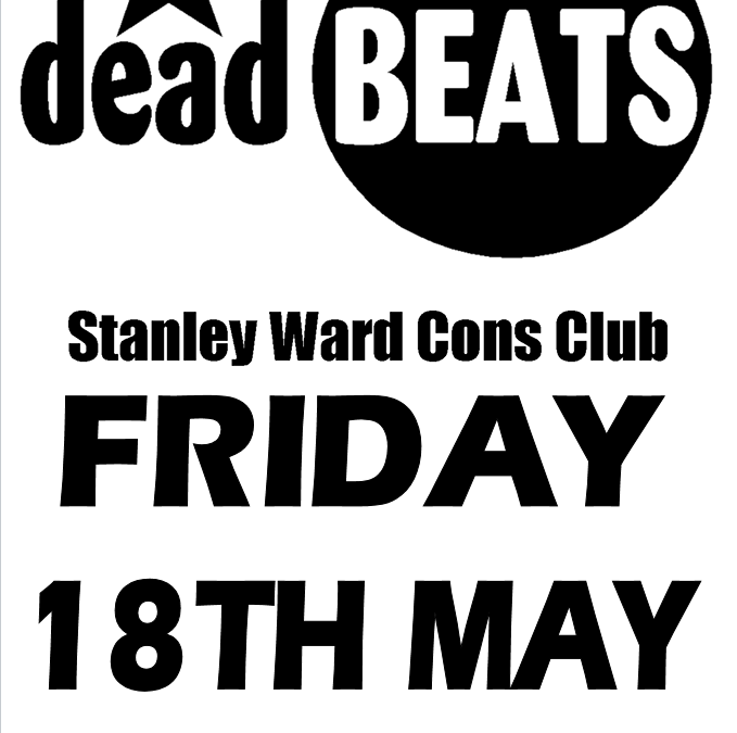 Last Minute Stanley Ward Gig This Friday 18th May!
