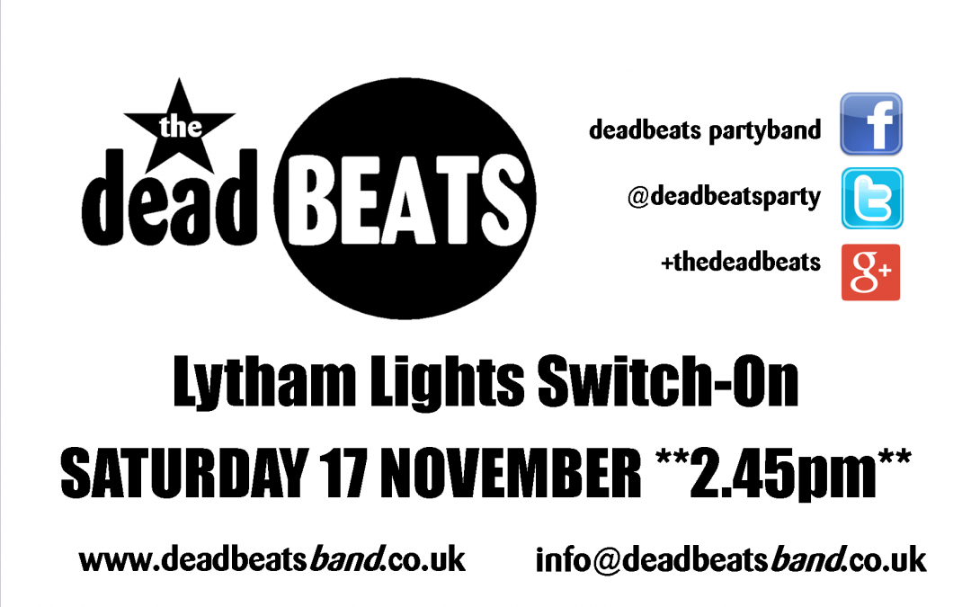 Lytham Lights-This Sat 17th *2.45pm*