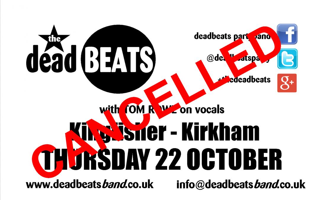 CANCELLED- Kingfisher Kirkham