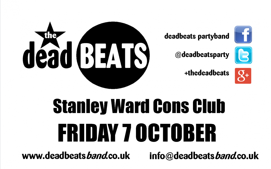 Stanley Ward- THIS FRIDAY!