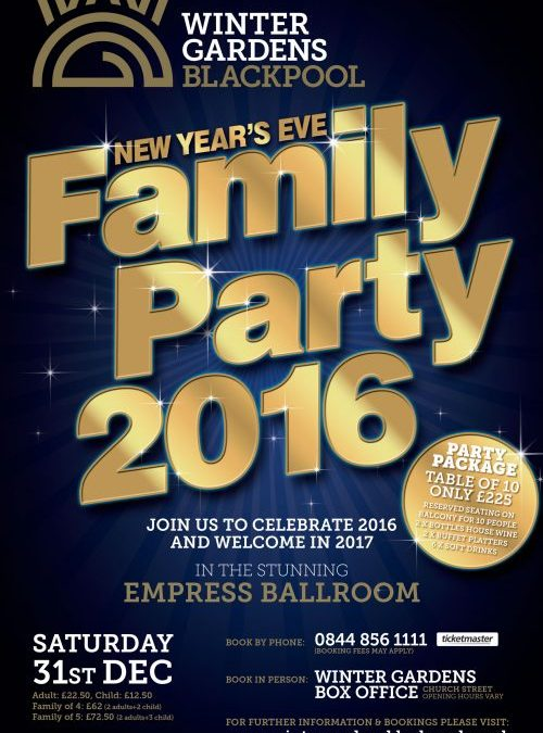 NEW YEARS EVE TICKETS ON SALE!