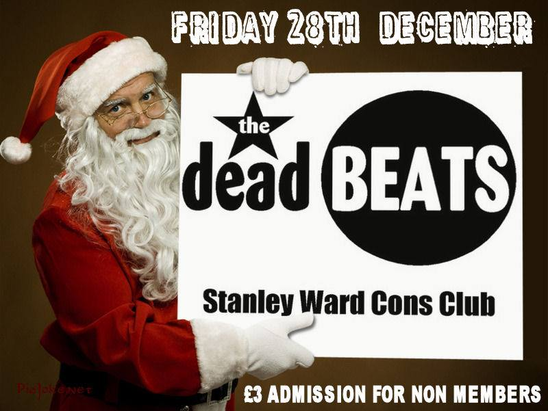 STANLEY WARD CLUB BLACKPOOL – DECEMBER 28TH