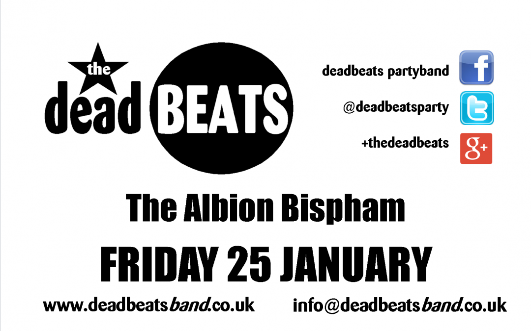 Albion Bispham- Fri 25 Jan