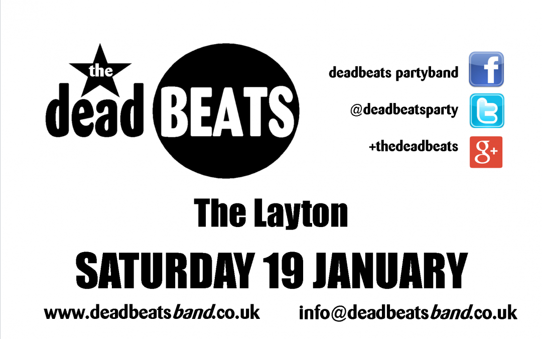 The Layton- Sat 19 Jan