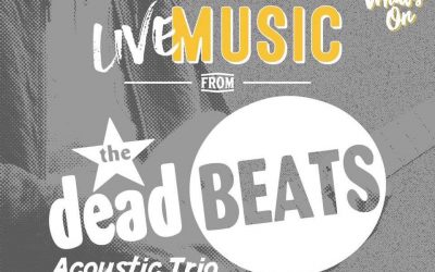 DEADBEATS ACOUSTIC @ CUBE BAR POULTON THIS THURSDAY (20TH JUNE)