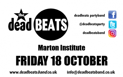 MARTON INSTITUTE THIS FRIDAY!