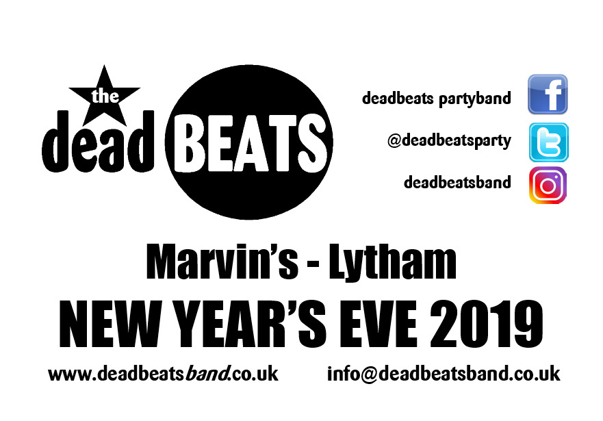New Years Eve @ Marvin's, Lytham!